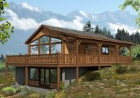 cabin house plans vacation cabin house plan with wrap Vacation Cabin Plans