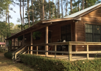 cabin in the woods on the lake toledo bend lake vacation Toledo Bend Lake Cabins
