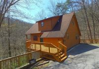 cabin near downtown gatlinburg in a wooded setting bear run Cabins Near Downtown Gatlinburg