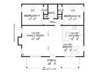 cabin plans 2 bedroom hunting cabin plan 062h 0002 at Hunting Cabin Floor Plans