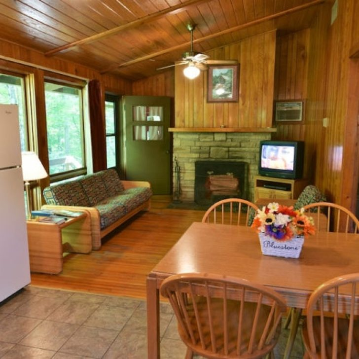 Permalink to Bluestone State Park Cabins Gallery