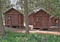 cabins at roosevelt lodge not exactly luxurious favorite Roosevelt Cabins Yellowstone