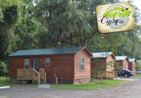 cabins cypress camping resort Myrtle Beach Cabins
