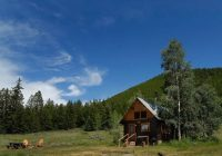 cabins pioneer guest cabins Cabins In Crested Butte