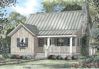 cabins traditional country house plans home design river view 3952 Country Cabin Plans