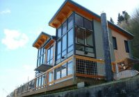 camano island fabcab is a timber frame prefab kit house in Cabin Kits Washington