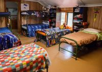 camp lohikan modern comfortable cabins first class Summer Camp Cabins