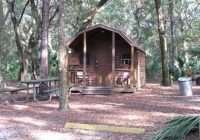 camping cabin at jay b starkey wilderness park campground Camping Cabins Florida