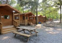 camping cabins lancaster log cabins Campground With Cabins