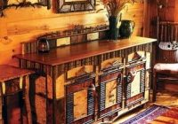 campy and rustic furniture perfect for the adirondack Adirondack Cabin Decor