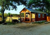casita blu cabin 6 with access on the guadalupe river in Guadalupe River Cabins