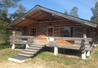 chalet arctic log cabin saariselka finland booking Finnish Log Homes