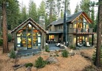 contemporary cottages plans rustic cabin modern log floor Small Modern Log Cabin
