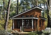 contemporary style house plan 52781 with 1 bed 1 bath Minimalist Modern Cabin Floor Plans Ideas