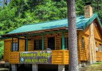 cook forest cabin 4 hominy ridge lodge and cabins Cabins In Cooks Forest