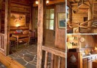 cool cabin entrance cabin house home Cool Cabin Ideas