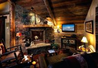 country cabin decorating country western style living room Country Cabin Living Room Ideas