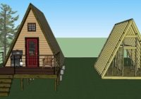 Cozy 14×14 tiny a frame cabin plans lamar alexander 14×14 Cabin With Loft Inspirations