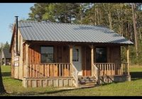 Cozy 24 x 24 simple cabin plans 8×8 Cabin With Loft