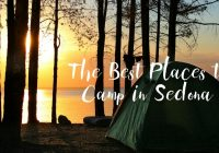 Cozy best places to camp in sedona orchard canyon on oak creek Sedona Camping Cabins Ideas