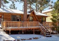 cozy cabin getaway with a wood burning fireplace in big bear lake california Cool Big Bear Cabins