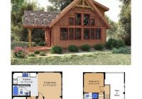 Cozy cedarrun woodhouse the timber frame company cabin plans Cabin Plans With A Loft Designs