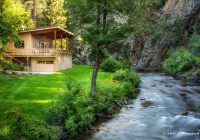 cozy creek front cabin in stunning setting near rapid city south dakota Cabins Rapid City Sd