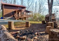 cozy pet friendly cabin getaway with a hot tub in blue ridge georgia Pet Friendly Cabins In Blue Ridge Ga