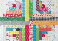 crazy mom quilts the start of a traditional log cabin quilt Log Cabin Quilt Pattern