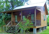 creekside cabin rental with a jetted tub near lake pontchartrain louisiana Cabins In Louisiana