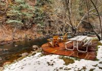 creekside lounge chairs 4 picture of colorado bear creek Bear Creek Cabins Evergreen Co