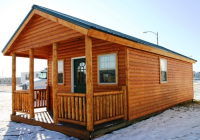 crew camp housing camp series Log Cabin On Skids