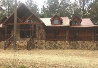custom 5 bedroom 5 bath cabin in land for sale hochatown Mccurtain County Cabins
