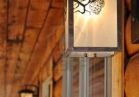 decoration outdoor lighting fixtures at a log cabin motel Cabin Lighting Fixtures