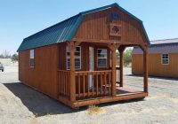 deluxe lofted barn cabin Lofted Deluxe Barn Cabin Building