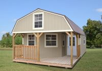 deluxe lofted barn cabins enterprise supercenter Lofted Deluxe Barn Cabin Building