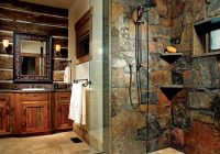 design tips for the perfect cabin kitchen or bath Cabin Bathroom Ideas