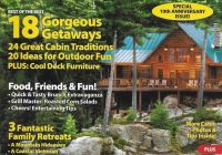 details about cabin life magazine best getaways outdoor fun Cabin Life Magazine