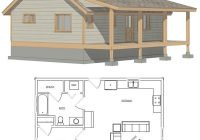 diy cabins the sapphire cabin small cabin plans tiny Small Cabin Floor Plans With Loft