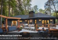 diy network ultimate retreat house giveaway sweetiessweeps Diy Cabin Sweepstakes