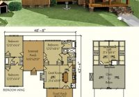dog trot house plan dog trot house plans dog trot house 4 Bedroom Cabin Plans