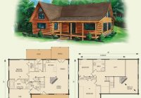 dogwood ii log home and log cabin floor plan in 2021 house Wood Cabin House Plan