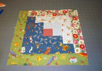 easy log cabin quilt block pattern Log Cabin Block Pattern