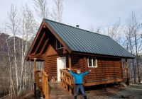 enjoying alaska state parks rainbow trout cabin ak on the go Alaska State Cabins