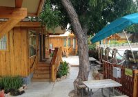 exterior of riverbend cabin picture of the resort at Schlitterbahn New Braunfels Cabins