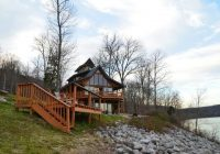 exterior of the herons nest of colluci log cabins picture Ohio River Cabins