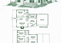 fairfax 4 bed 25 bath 2 stories 2260 sq ft 4 Bedroom Cabin Plans