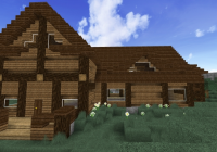 fancy log cabin wisconsin themed home minecraft map Minecraft Rustic Cabin