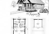 features of small cabin floor plans small cabin floor plans Small Cabins With Loft Floor Plans