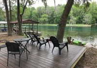 find your calm palm waters riverhouse retreat dunnellon Rainbow River Cabins